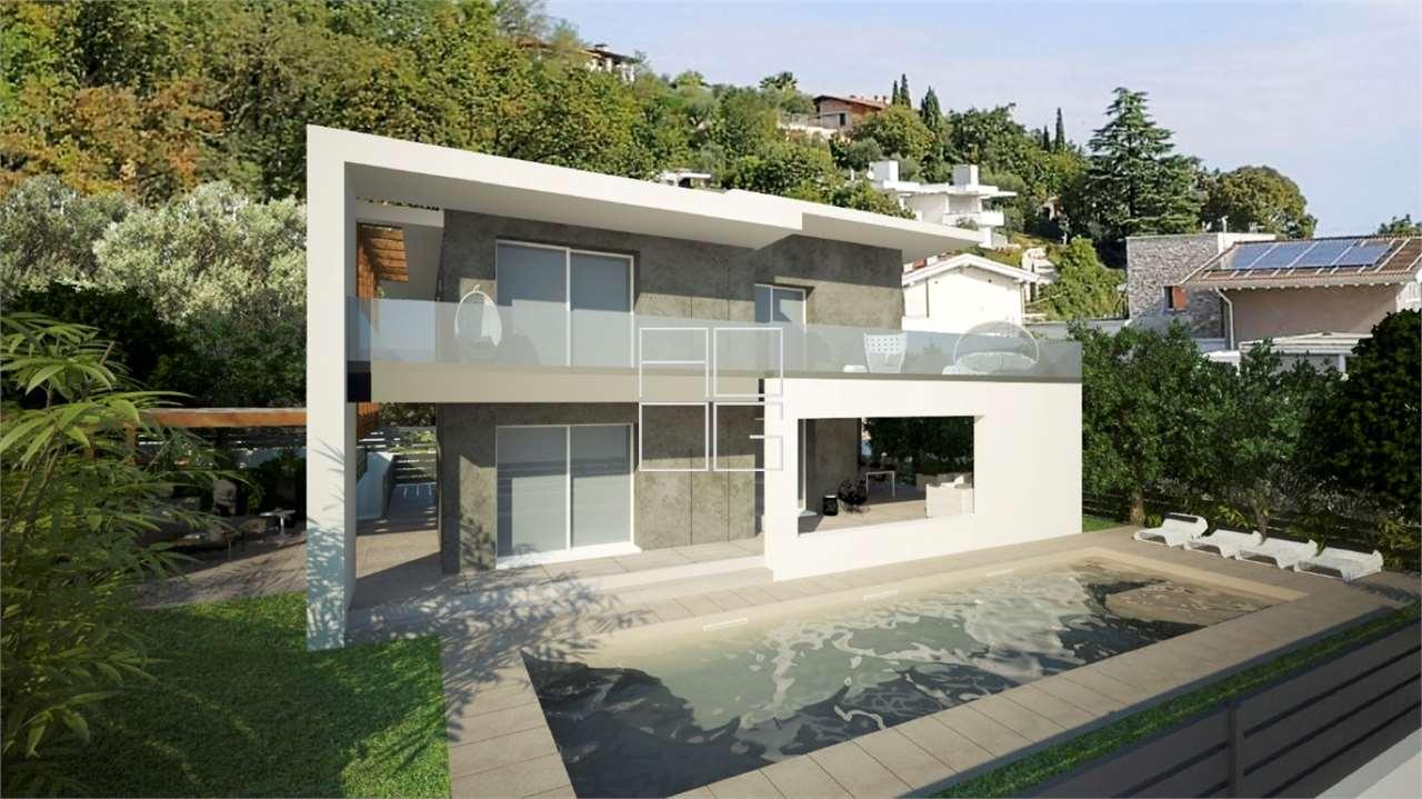 Prestigious villa with modern design in Padenghe sul Garda