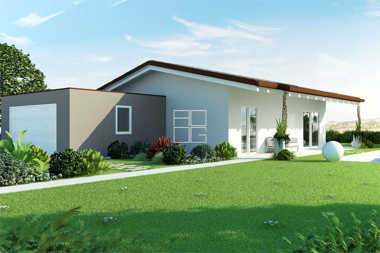 New class A villa in modern style in Lonato